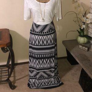 NWT Chico's Long Maxi Skirt